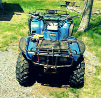 91 honda 300 foutrax - needs front diff, but driveable PAPERS!