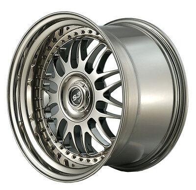 4 Felgen S3 Edition 10 +11X19 2tlg. Schwarz/Hornpoliert für Mercedes CLS