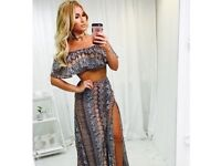 In The Style Billie Faiers Tribal Print Co-ord