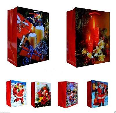 12/24/48 große Weihnachtstüten Geschenktüten Weihnachten Taschen 1028 BA ()