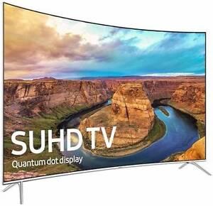 "Samsung - 55"" Curved 4K SUHD HDR Smart LED LCD TV -- UA55KS8500 Auburn Auburn Area Preview"