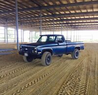 1985 Chevy k10 for sale or trade $6500obo