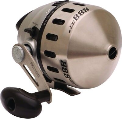 **NEW Zebco 888 Spincast Reel 2.6:1 Prespooled 25Lb 3BB 888H  for sale  East Troy