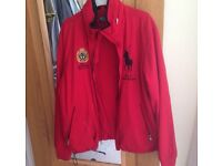 Men's red Ralph Lauren jacket size medium