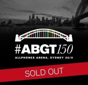 2 x Above & Beyond Floor GA Standing Ticket #ABGT150 SOLD OUT Sydney City Inner Sydney Preview
