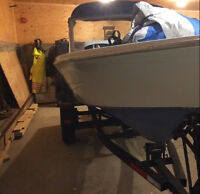15.5foot runabout with 85