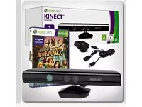 Official Xbox 360 Kinect Sensor with Kinect Adventures Game