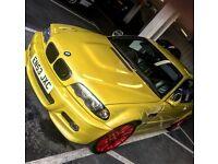 BMW M3 Convertible SMG 3.2 2003 Very rare Phoenix yellow