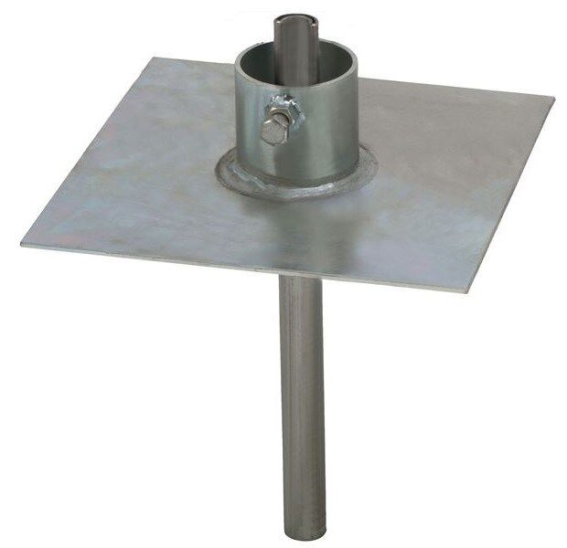 Easy Up EZ-32A Heavy Duty Ground Mount for Telescopic / Push Up Antenna Masts