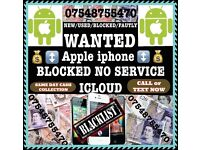 Wanted iPhone 6s 7 7Plus 6s Plus SE 6 6+ Samsung s6 s7 edge s7 s6 faulty new used n o signal b lock