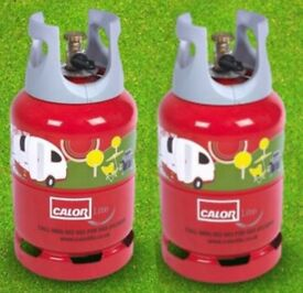 FULL CALOR LIGHT GAS BOTTLE / LITE 6KG x 2 Gas Bottles Only £80.00 DELIVERED