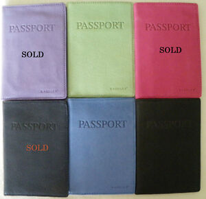 New Leather Passport Cover