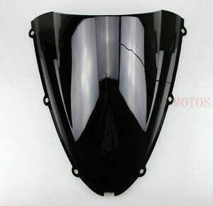 Windshield WindScreen DB Kawasaki ZX6R 05-08 ZX10R 06-07 Black