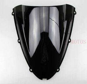 Windshield WindScreen DB Kawasaki ZX6R 05-08 ZX10R 06-07 Black