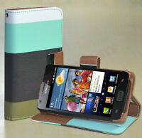 Leather case-Samsung Galaxy S2 I9100