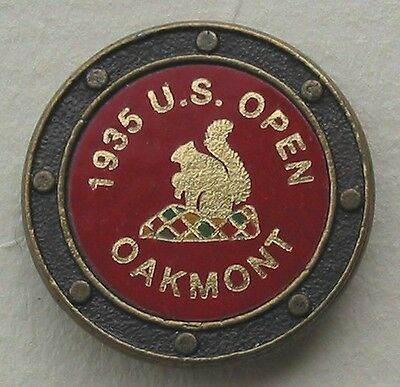 Hot Foil example of a quaility commemorative ball marker made in the 1990s