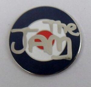 The Jam enamel badge. Paul Weller,Mod,Oasis,Lambretta