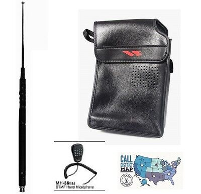 Used, Yaesu FT-817ND Accessory Bundle - Yaesu Soft Carry Case, DTMF Mic, & MFJ Ant. !! for sale  USA