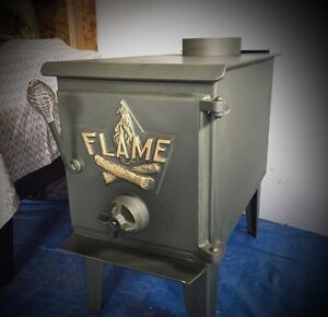 FLAME Wood Stove like new!