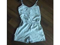 Light blue playsuit H&M 6/8