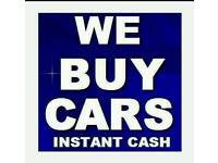 Cars and vans bought for cash £100-£2000