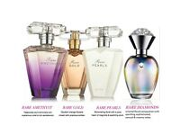 Avon rare collection all 4 full size perfumes