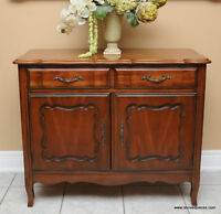 Vintage French Side Server / Buffet by Malcolm Furniture