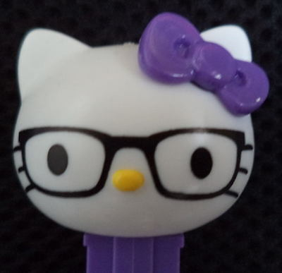 NERDY  mint loose PEZ (Nerdy Hello Kitty)