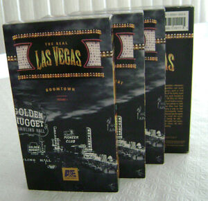 A&E Television Special: THE REAL LAS VEGAS (4 VHS)