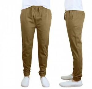 Men's Cotton Stretch Jogger Pants (Size S)