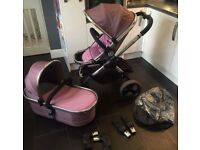 Icandy peach 3 complete travel system