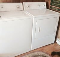 Kenmore super capacity • heavy duty washer and dryer set