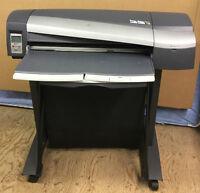 """HP DESIGNJET 130 NR 24"""" Wide Format Printer Hewlett Packard"""