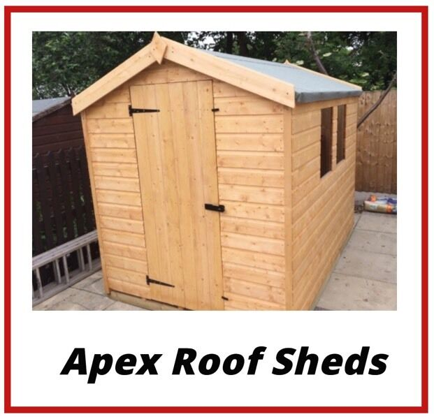 apex roof garden shed best quality best pricefree delivery