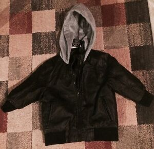 BRAND NEW WITH TAGS LEATHER JACKET