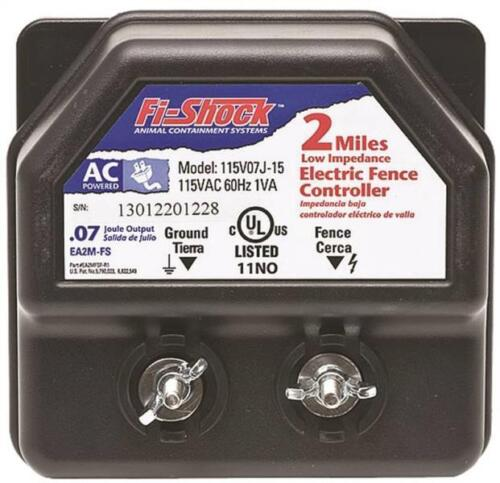 NEW FI-SHOCK EA2M-FS LOW IMPEDANCE AC POWER ELECTRIC FENCER CHARGER 6976674