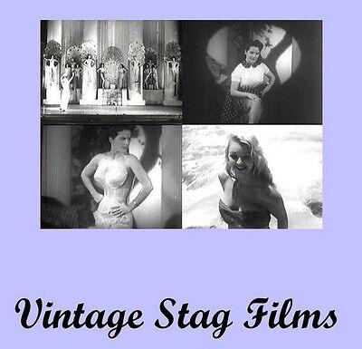 Vintage Risque Burlesque PINUP Girlie Films Video 1930-50  DVD *
