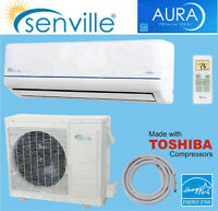 Air Climatise mural 18000 BTU thermo pompe inverter SEER 21 !