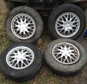 Caravan Rims And Tires