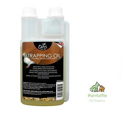 500ML CARRS TRAPPING OIL Natural Aniseed Attractant for Racing Pigeons