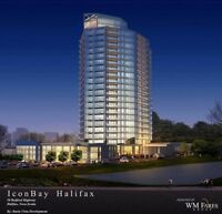 HALIFAX'S NEWEST HIGH-RISE ICON BAY! NOW LEASING!