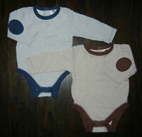 LIKE NEW Old Navy Vintage Baby Collection 3-6M Boys Onesies
