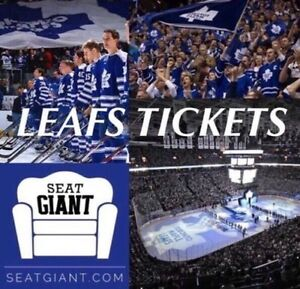 MAPLE LEAFS TICKETS - All Games Available! From $58!!!