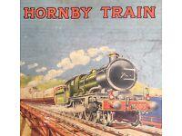 Prewar Hornby O gauge train set clockwork