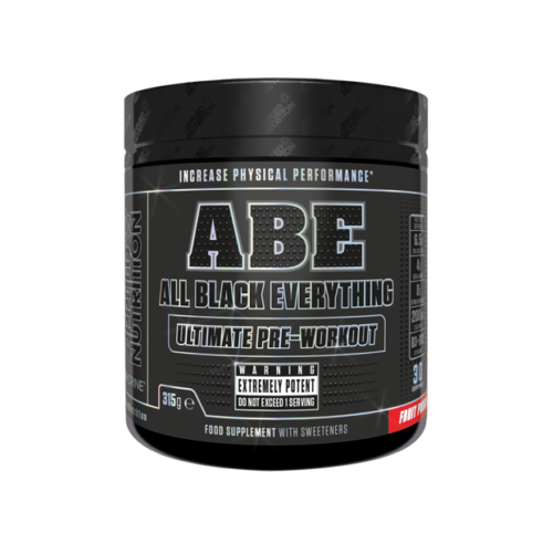 APPLIED NUTRITION ABE All Black Everything (Pre-Workout with Theacrine) 315g