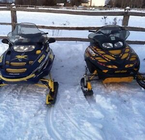 Two sled package deal