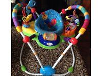 Baby Einstein jumperoo - activity station
