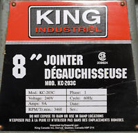 8'' KING JOINTER