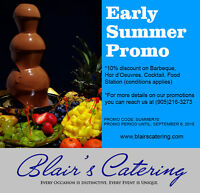 CATERING EARLY BOOKING DISCOUNT