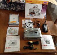 Kodac EasyShare C643 printer dock + camera